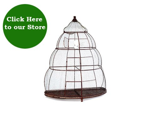 how to make wire mesh bird cage