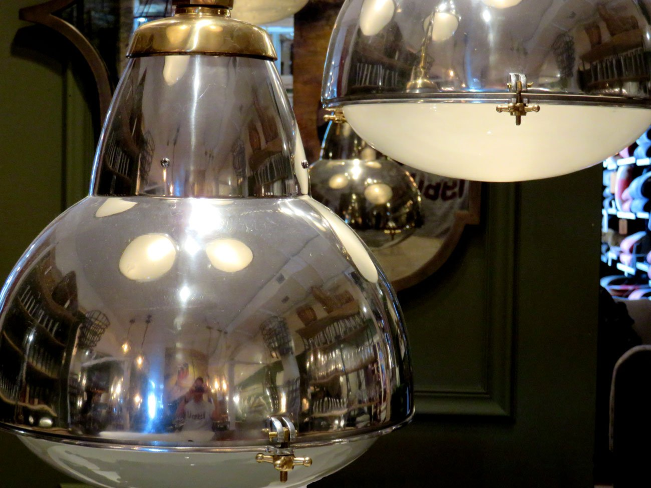 vintage metal lights