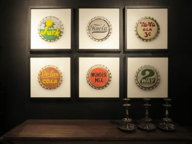 Vintage Bottle Cap Prints