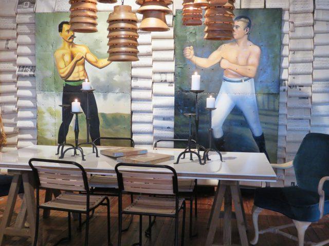Boxing Match Wall Art