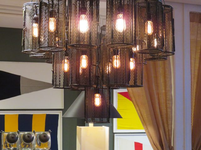 Industrial Metal Cage Lights