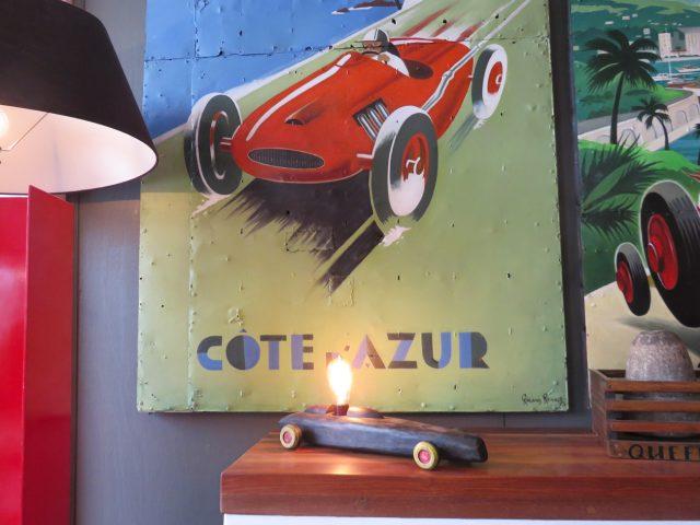Race Car Table Lamp