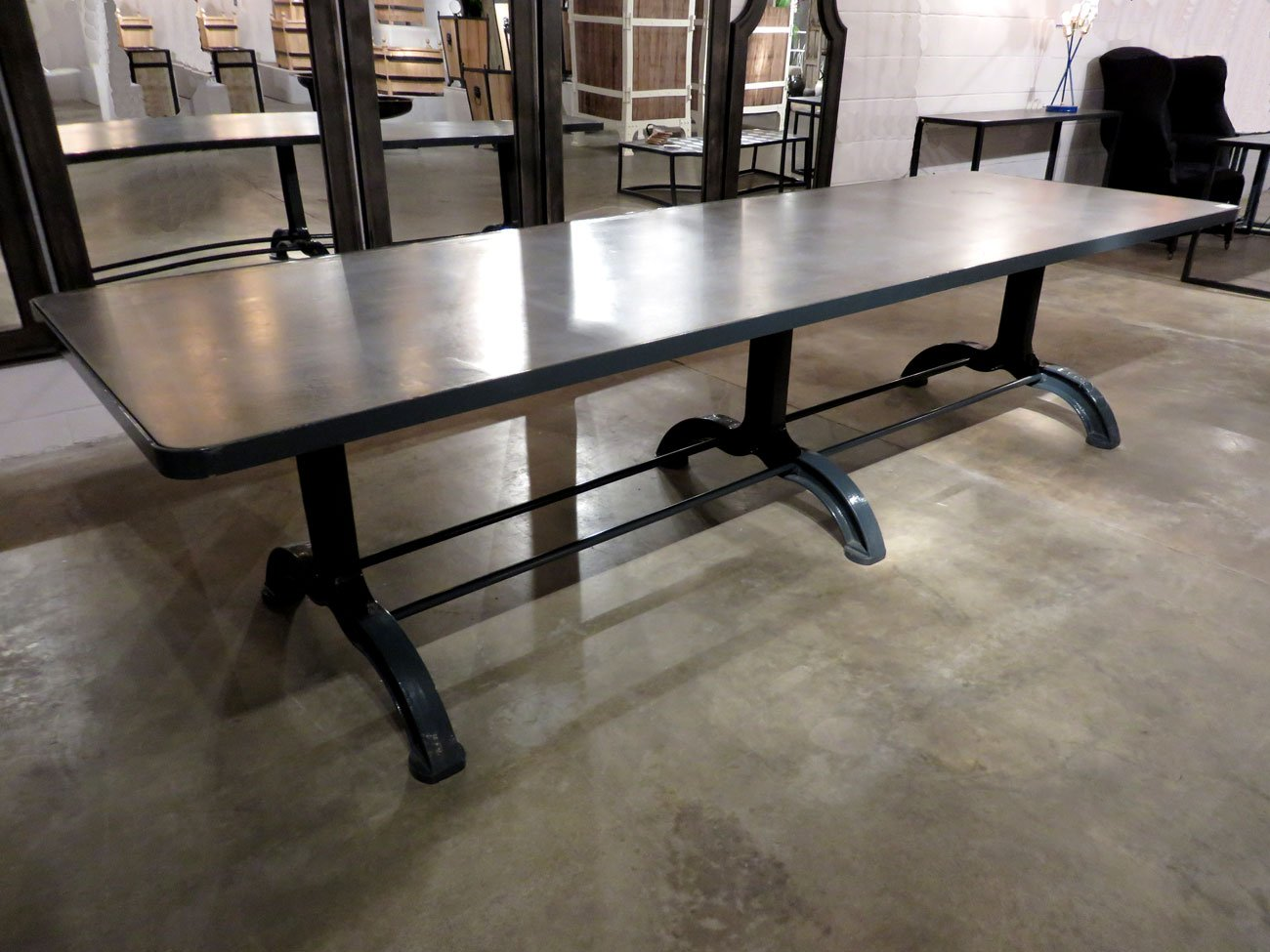 Concrete Top Dining Table Hudson Goods Blog