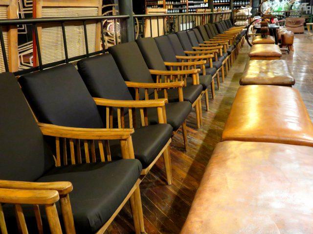 Mid Century Vintage Wood Chairs
