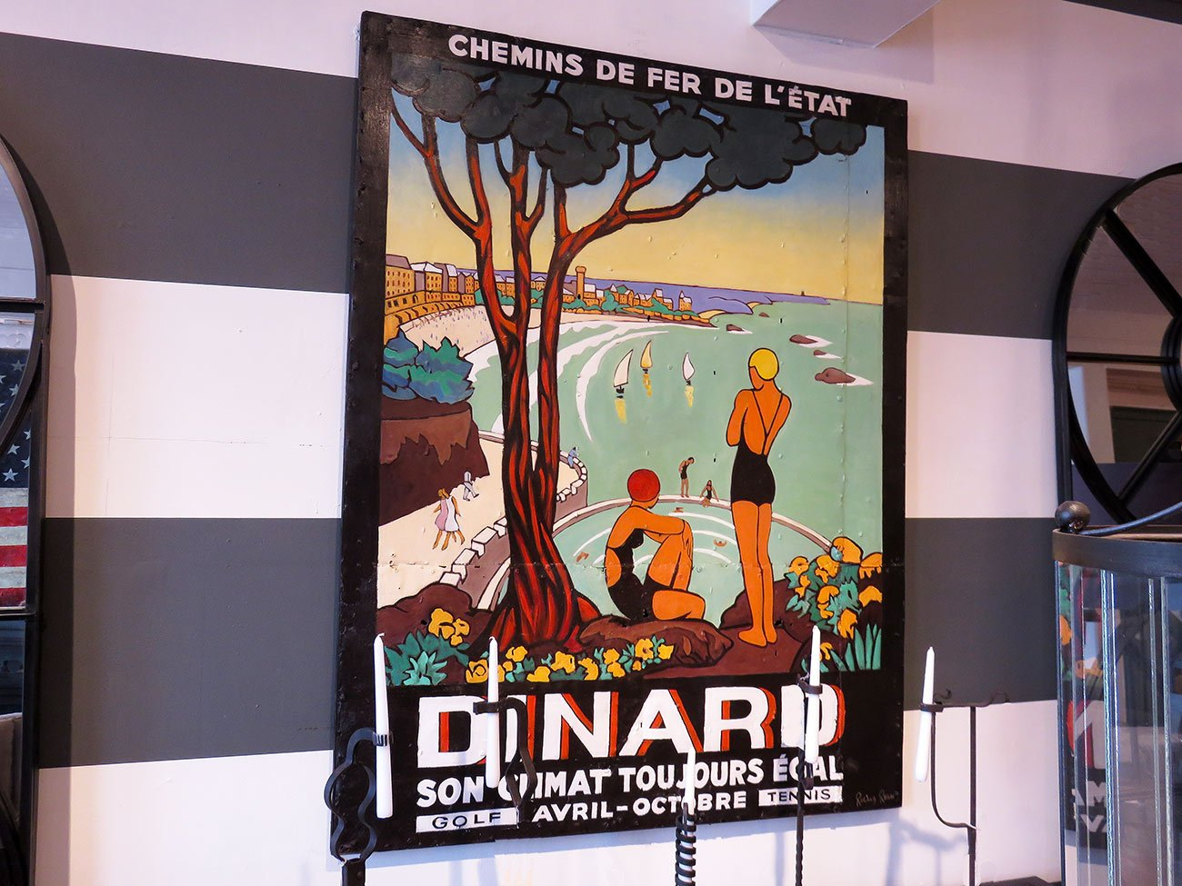 french dinard wall art