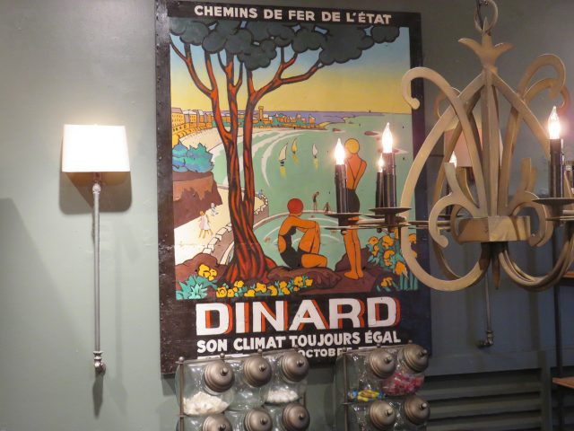 Vintage French Dinard Painting