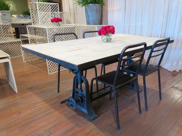 Industrial Iron Dining Table