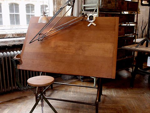 Industrial Drafting Table Archives Hudson Goods Blog