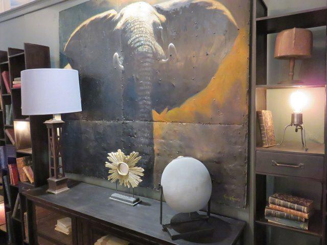 Big Elephant Wall Painting
