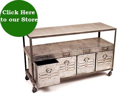 Vintage Industrial Metal Furniture Hudson Goods Blog