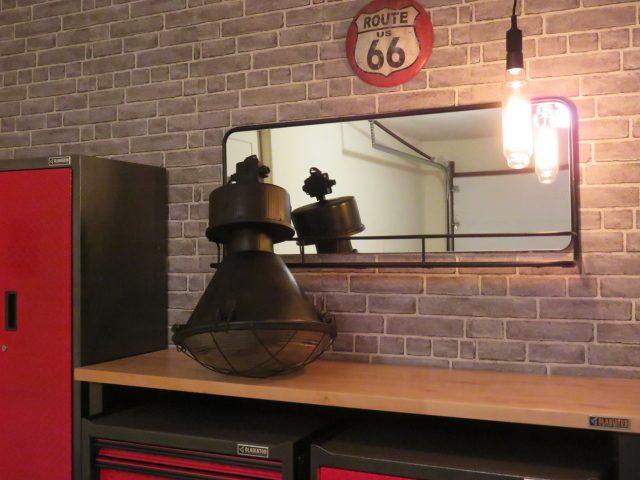 Vintage Industrial Black Pendant