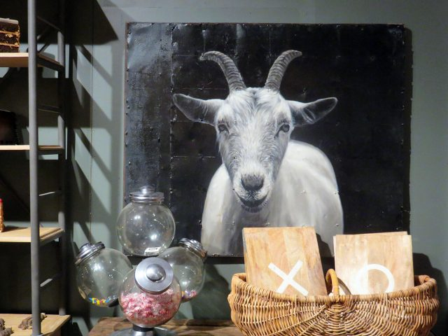 Billie Goat Wall Art