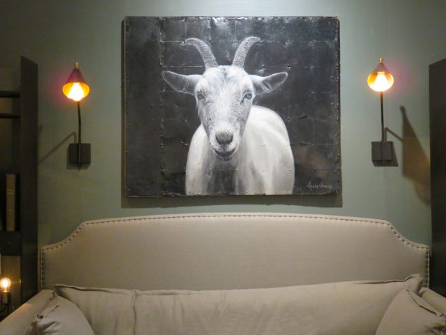Large Billy Goat Painting