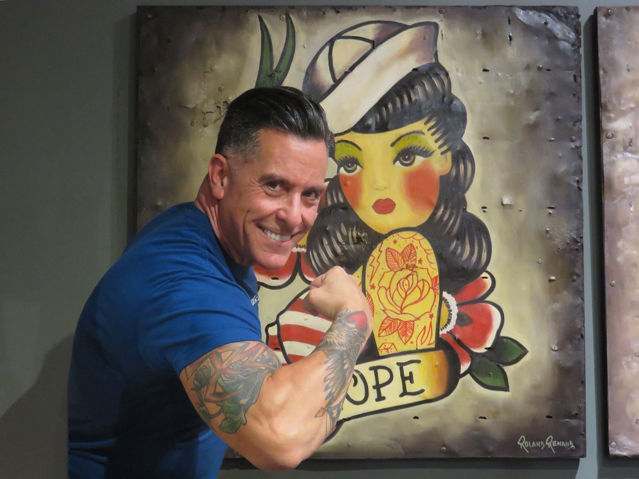 sailor hope tattoo painting