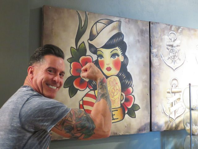 Sailor Jerry Tattoo Painting