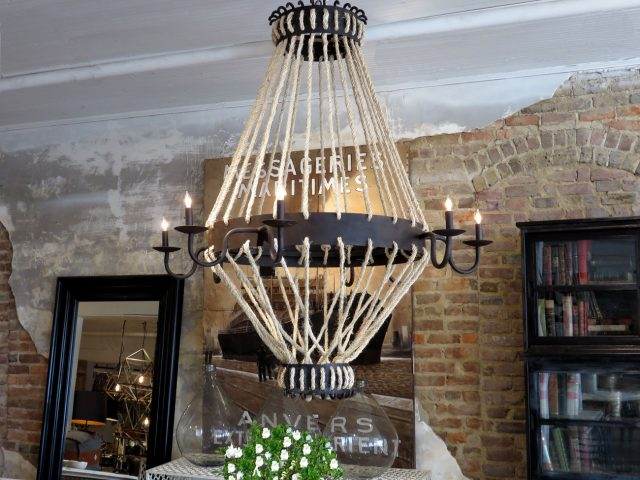 Iron Rope Chandelier