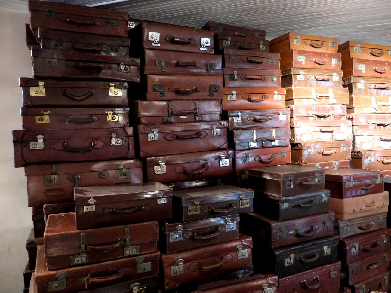 Vintage Leather Luggage - Hudson Goods Blog