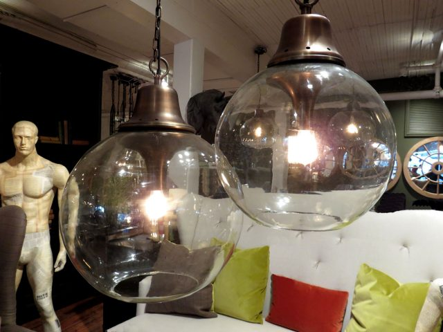 Round Glass Pendant Lights