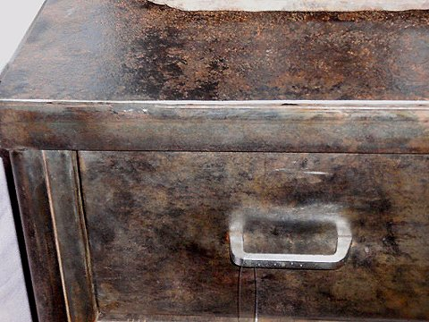 distressed industrial furniture. more metal distressed industrial furniture