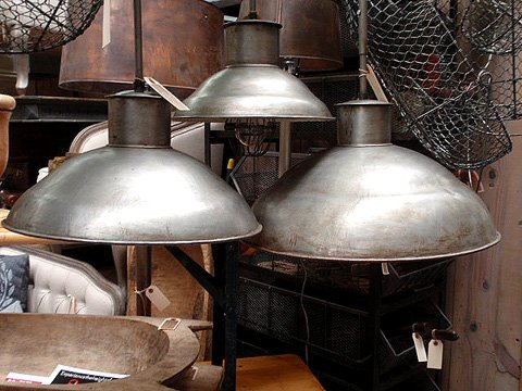 industrial lighting design. vintage industrial metal lighting design