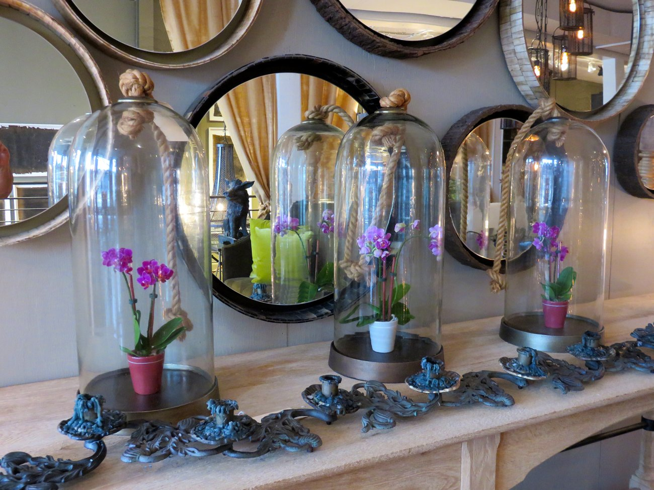 cool round mirrors