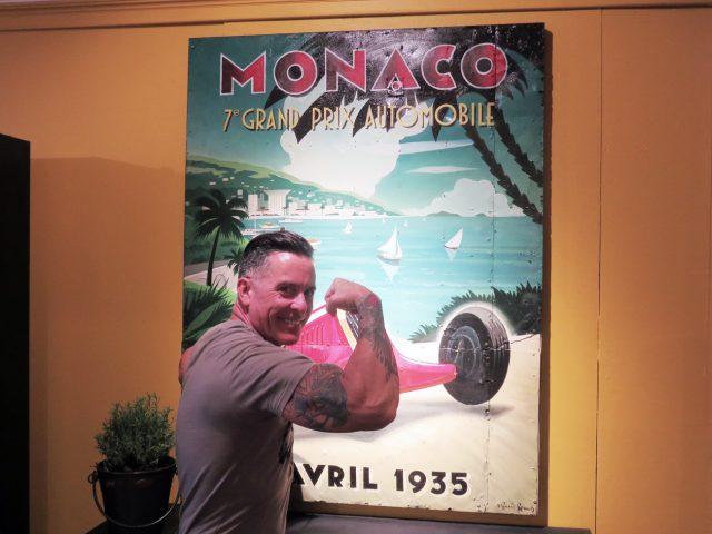 Monaco Grand Prix Painting