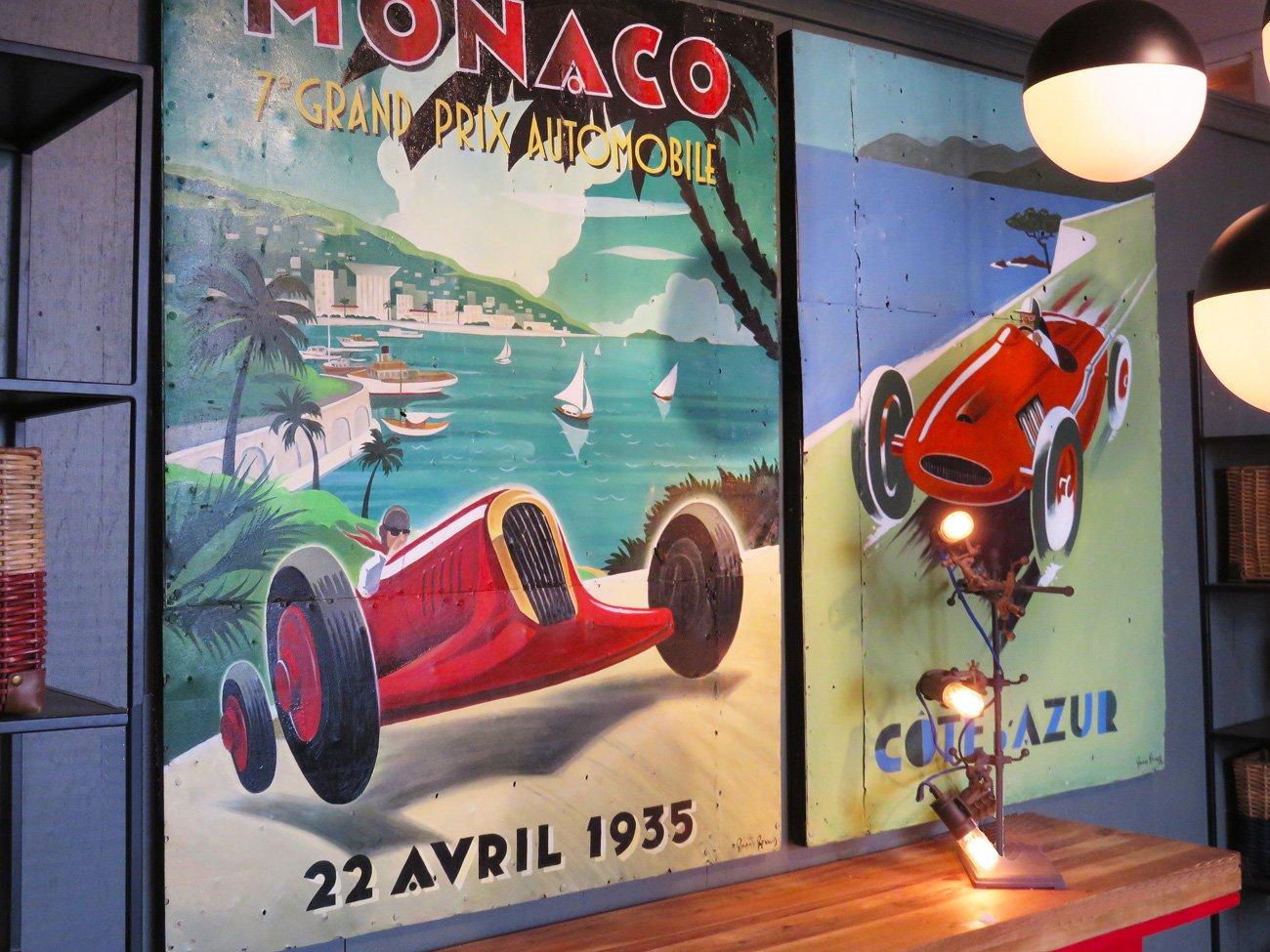 Monaco Grand Prix Wall Art