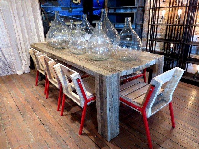 Wood Oak Dining Table
