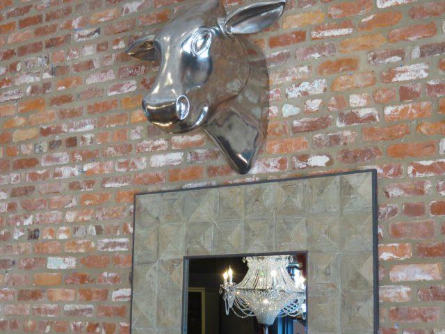 Cow Head Wall Bust