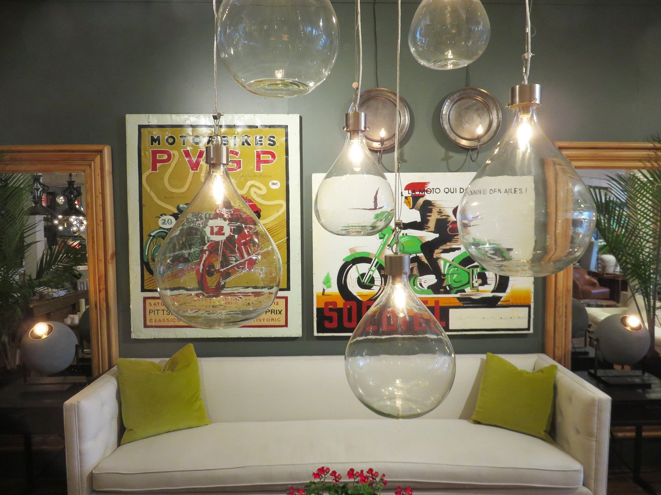 vintage motocross wall paintings
