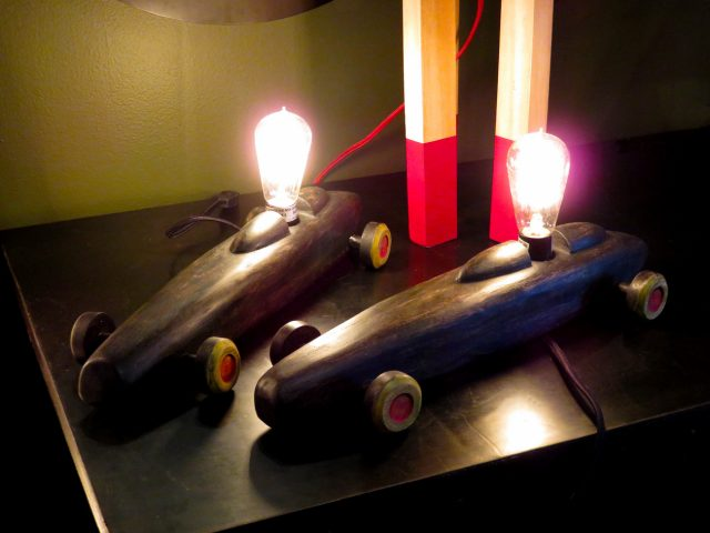 Vintage Toy Car Table Lamps