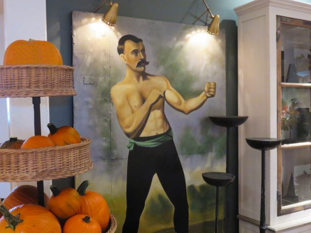 Vintage Boxing Wall Painting