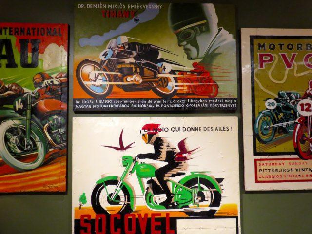 Vintage Motorcycle Wall Art