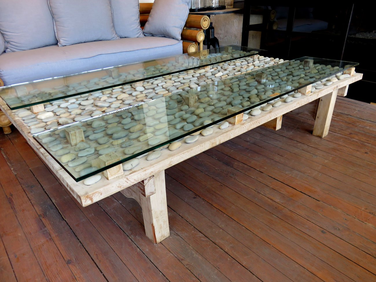 Natural stone coffee table hudson goods blog Stone coffee table