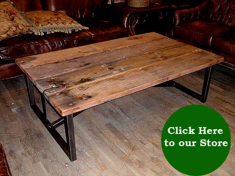Click here to view Salvaged Wood Coffee Table, $795 at HudsonGoods.com.