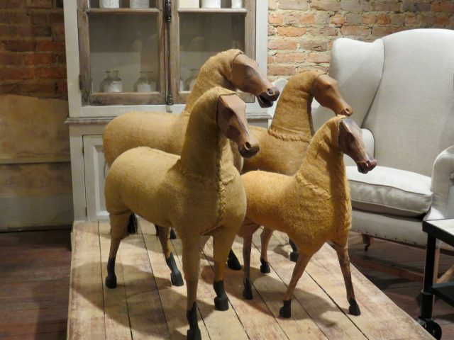 Decorative Burlap Sheep
