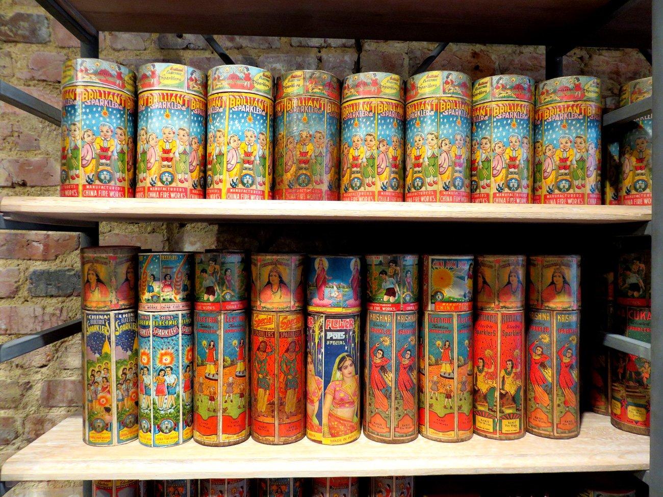 vintage sparkler boxes