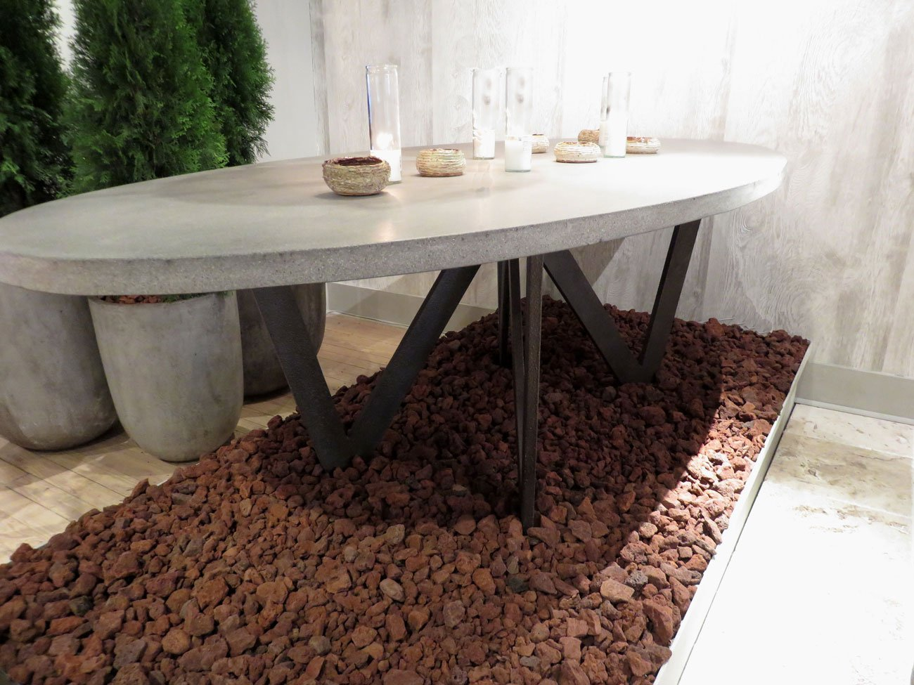 Outdoor Stone Dining Table Hudson Goods Blog