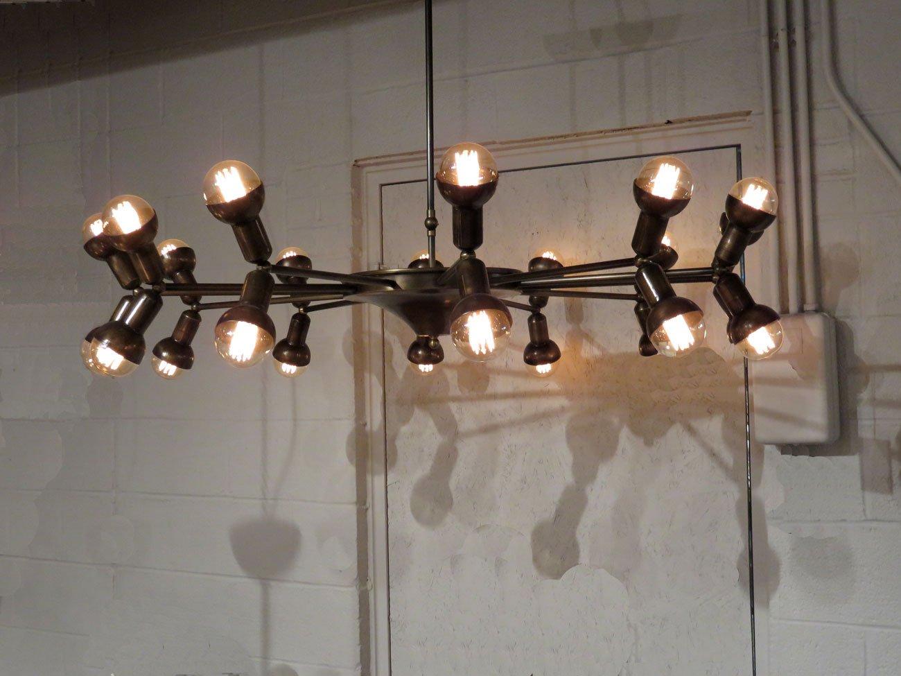 Vintage Filament Bulb Chandelier