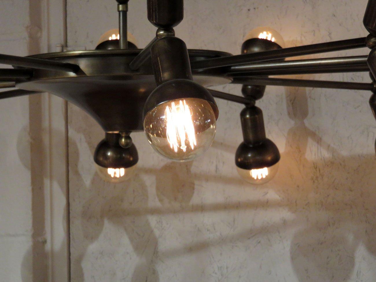 Vintage Filament Bulb Chandelier Hudson Goods Blog