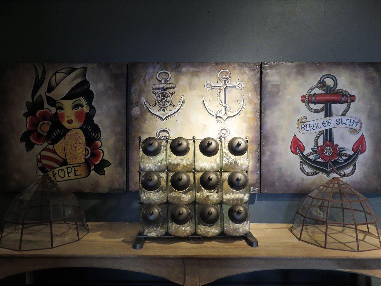 tattoo art wall paintings
