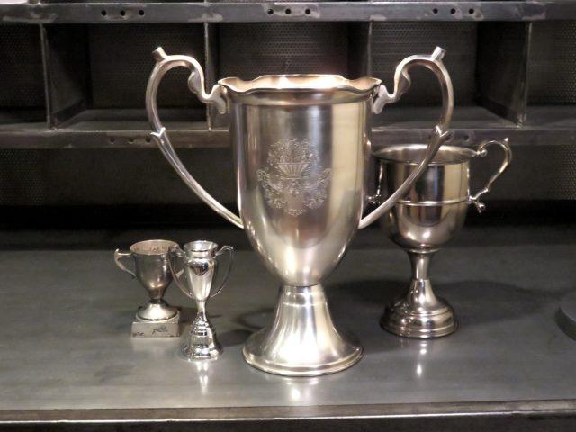 Vintage Silver Metal Trophies