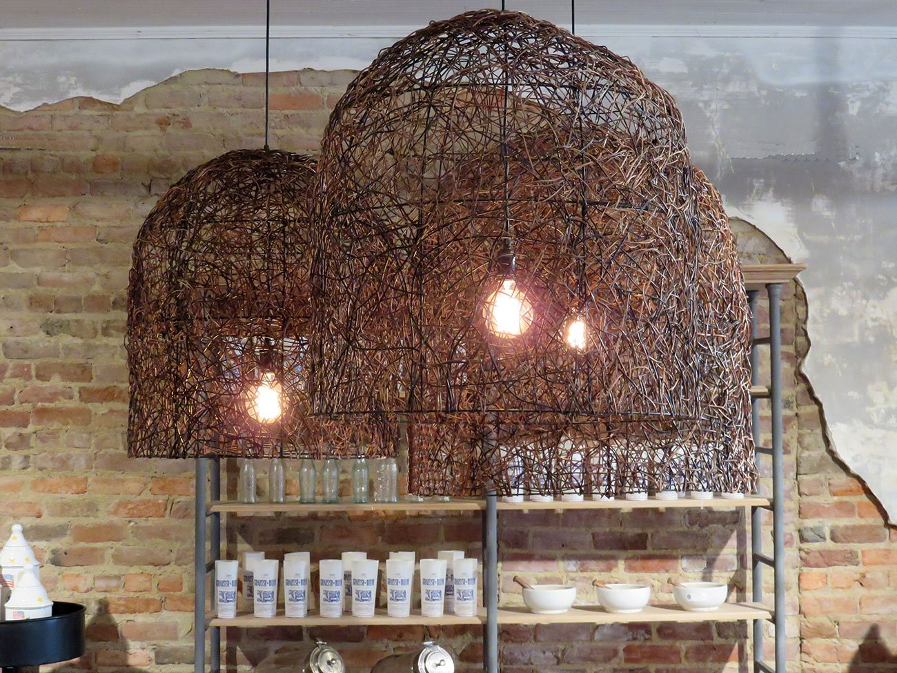 real branch twig chandeliers