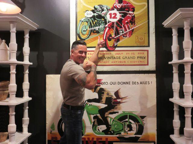 Vintage Motorcycle Artwork
