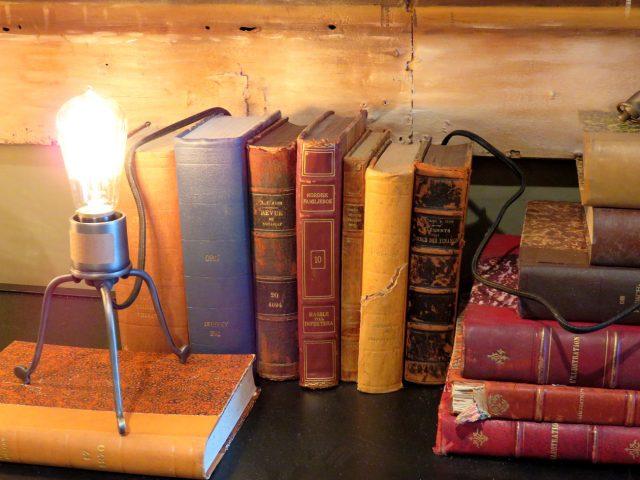 Vintage Leather Bound Books