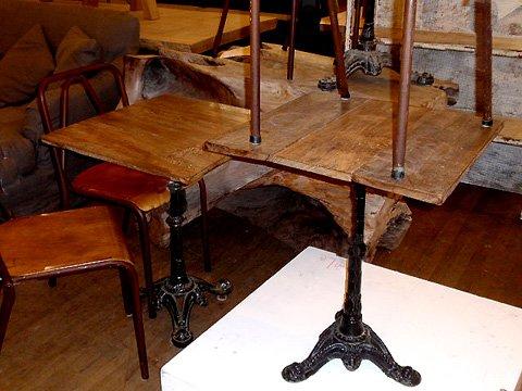 Hudson goods blog vintage industrial furniture 187 vintage cafe table