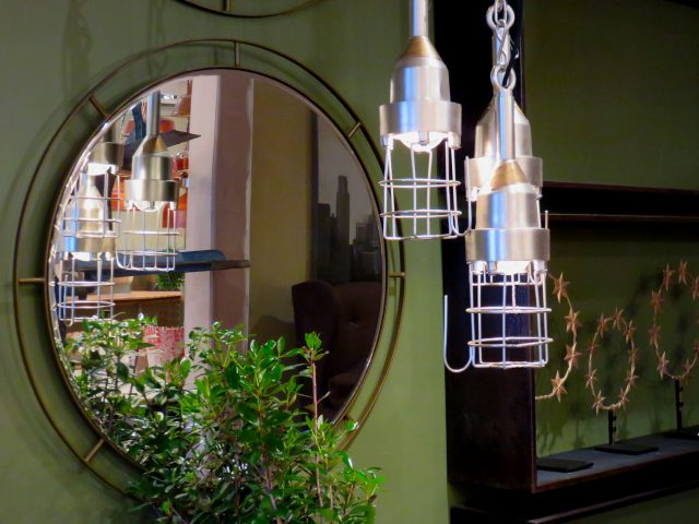 Vintage Cage Light Pendant
