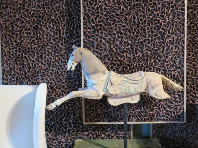 Vintage Wood Carousel Horse