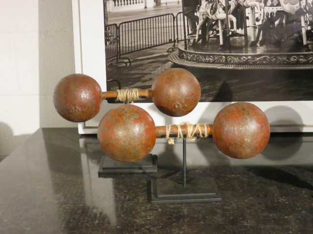 Vintage Gym Dumbbell Set