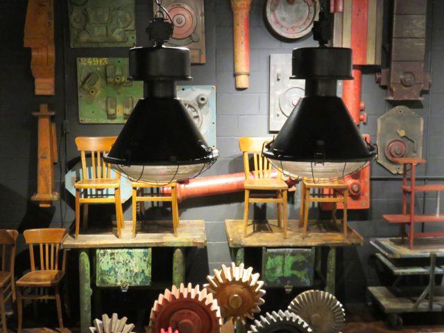 Vintage Industrial Metal Warehouse Pendants